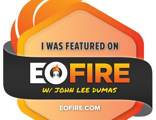 Interview with John Lee Dumas of EOFire! Listen in!