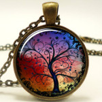 Tree of life necklace on Etsy.com.