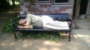 sleepingman
